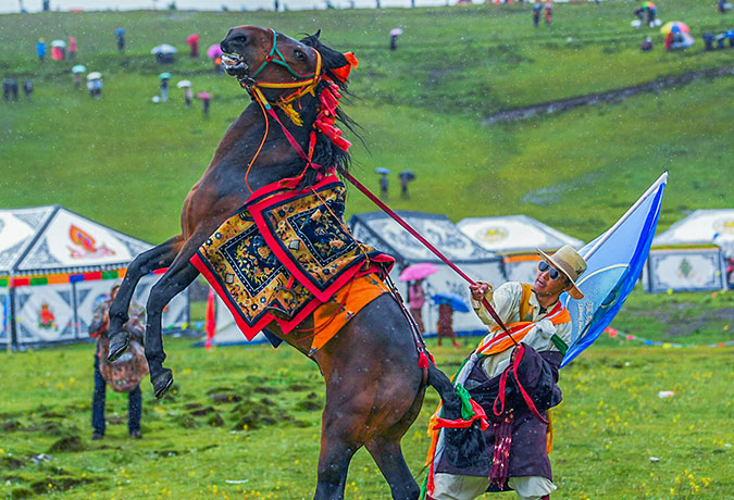 11 Days Litang Horse Racing Festival